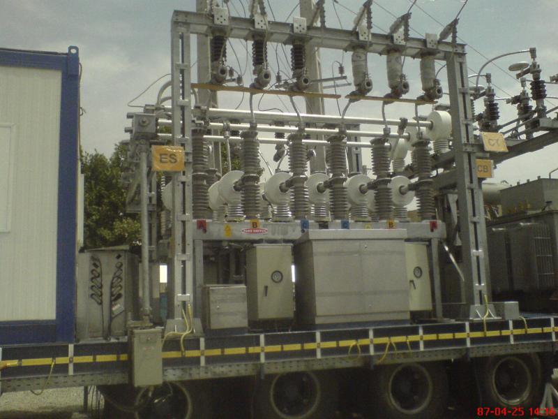 کلمپ پست برق نصب شده ی شرکت نوین انتقال ایرانیان (مهنا) 15