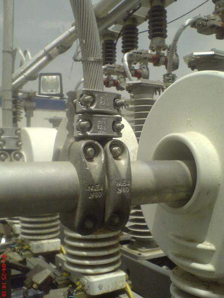 کلمپ پست برق نصب شده ی شرکت نوین انتقال ایرانیان (مهنا) 10