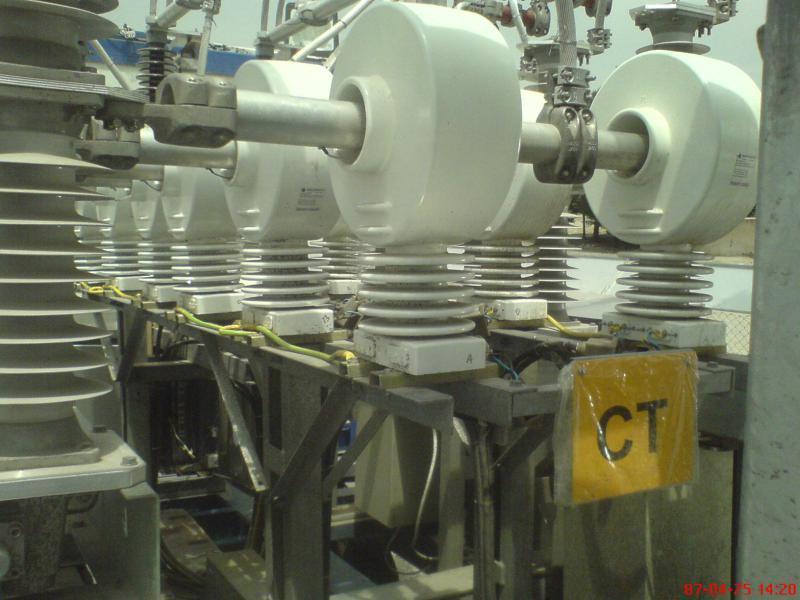 کلمپ پست برق نصب شده ی شرکت نوین انتقال ایرانیان (مهنا) 4