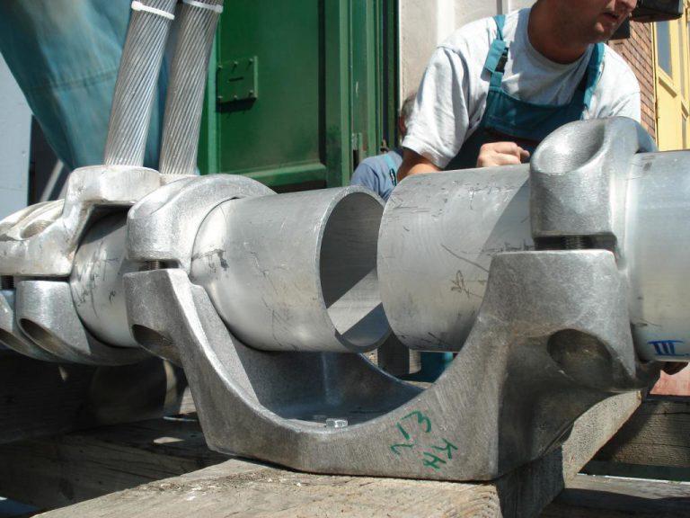 تست کلمپ پست برق شرکت نوین انتقال ایرانیان (مهنا) در آرمایشگاه ویکی مجارستان 17