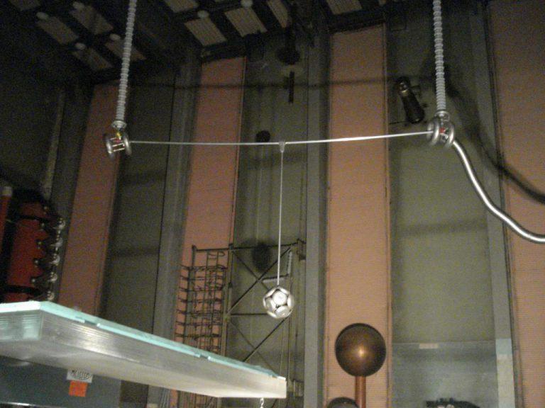 تست کلمپ پست برق شرکت نوین انتقال ایرانیان (مهنا) در آرمایشگاه ویکی مجارستان 5